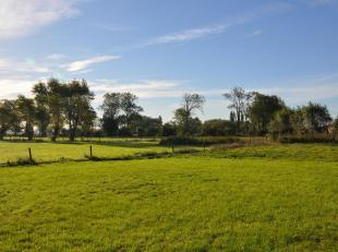 Landelijke hoeve met verschillende omliggende PACHTVRIJE landbouwgronden met een totale oppervlakte van ca. 6,4ha, gelegen in een groene oase te Meetk
