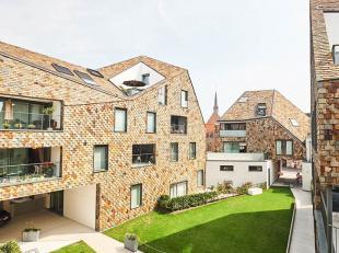Residentie Gouden Boom : top locatie in centrum Brugge. Instapklaar luxueus afgewerkt nieuwbouwappartement op 2e verdiep met inkom, ruime leefruimte m