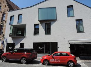 Residentie Gouden Boom : recent nieuwbouwappartement op 1e verdieping met hall en toilet, ruime living met aangenaam terras, halfopen ingerichte keuke