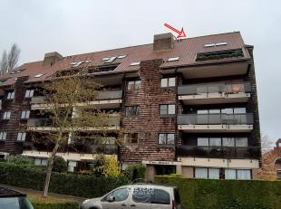 Steenkaai 35/10 - Brugge<br /> Ruime studie bestaande uit:<br /> Glvl.: inkomhal met trap en lift.<br /> 5° verd.: inkom, open leef- en eetruimte,