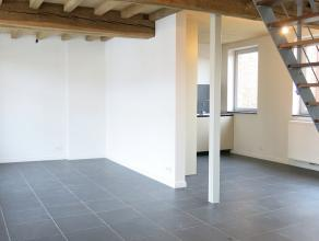 Lichtrijk duplex nieuwbouwappartement in loftstijl met een strakke kwaliteitsvolle afwerking. Een uitstekende locatie vlakbij alle modaliteiten die Br