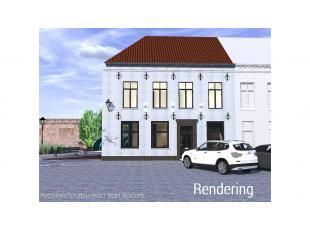 Casco horecapand te huur in de Calvariebergstraat in het centrum van Brugge, vlakbij de kleine en de grote ring van Brugge. Commerciele ligging - vlot