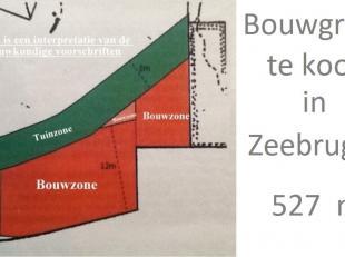 Uniek stuk bouwgrond te koop net aan de rand van het centrum van Zeebrugge-Dorp. Wonen in een aangename en rustige omgeving vlakbij een school, sporth
