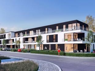 Appartement 0.7 werdgebouwd in het nieuwe appartementsgebouw'Ten Hove I'in het centrum van Jabbeke. Deze stijlvolle residentie met hoogkwalitatieve ma