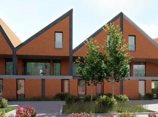 De woning 'D9' bevindt zich op de verdieping van de Blekerie, een gloednieuw toekomstgericht woonproject in het centrum van Brugge. Met 151m² woo