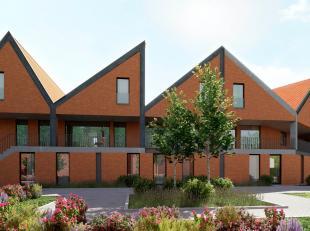De gelijkvloerse woning 'D4' maakt deel uit van de Blekerie, een toekomstgericht woonproject in het centrum van Brugge. Deze lichtrijke woning biedt11