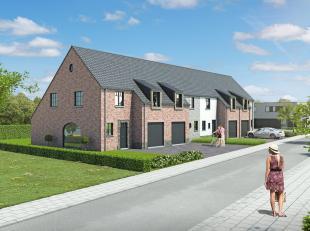 Deze fraaie gezinswoning in landelijke architectuur wordt gebouwdop lot 2, een perceel van 237m² in de nieuwe verkaveling in Oudenburg. Deze gesl