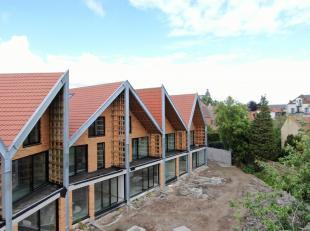De gelijkvloerse woning 'D3' biedt haar bewoners 104m² woonoppervlakte en 42m² buitenruimte. Vanop het ruime terras heb je zicht op de zuidg