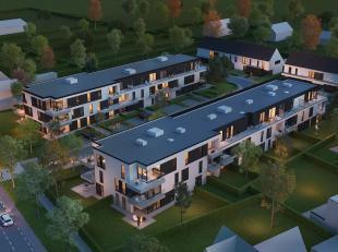 Dit gelijkvloerse appartement (0.9) is gesitueerd op de hoek aan de achterzijde van het nieuwe appartementsgebouw 'Ten Hove II' in Jabbeke, kant Stati