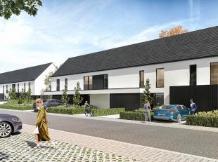 Deze nieuwbouwwoning in moderne architectuur wordt gebouwd op lot 10 in de Hoveniersstraat in Jabbeke. Deze verkeersluwe straat is gelegen in onze nie