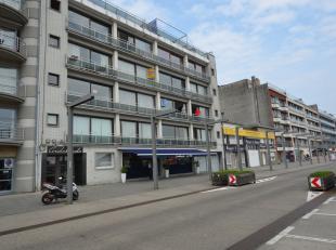 Ruime studio van 45m² gelegen aan de achterzijde van de Rederskaai met een open zicht op de marinebasis. De studio is verhuurd aan 400,00euro + 6