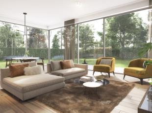 Prachtig gelijkvloers hoekappartement met 3 slaapkamers van 118 m² met een zonneterras van 45 m² in de stijlvolle residentie Albéric