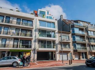 Zonnig en zeer lichtvol duplexdakappartement met 3 slpk. (135m²) en zonneterrassen (15 m²) gelegen aan de Elisabethlaan genietend van een op