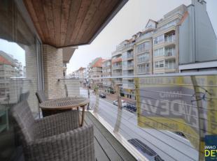 Gemeubeld appartement met ruim zuidgericht terras in een recente residentie gelegen op de Dumortierlaan vlakbij de H. Hartkerk en het Van Bunnenplein.