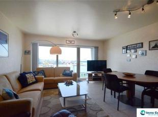 Res. Lord Nelson: Ongemeubeld appartement gelegen op de 4de verdieping, en perfect georiënteerd! Ervaar een fantastisch uitzicht vanop uw terras,
