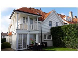 Knus en gezellig eigentijdse villa op een extreem rustige ligging en toch vrij centrale buurt(kliniek) van Knokke. deze doodlopende straat/wijk bevind