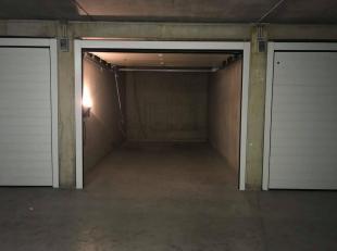 Ruime garagebox in residentie 'Booster' te Heist.