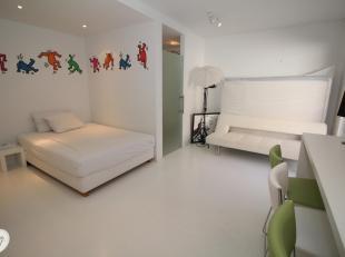 Instapklare studio gelegen op de 2e verdieping uitgevend op de rustige binnenplaats.<br /> Indeling:<br /> Inkom, woonkamer, open ingerichte keuken, b