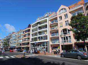 Schitterend appartement met zonnig terras, centraal gelegen op de Lippenslaan te Knokke.<br /> Indeling van dit appartement: inkomhal met vestiaire en