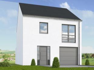 Voorstel van nieuw op te richten half open bebouwing, gelegen aan de Kasteelstraat, lot 1, met een oppervlakte van 335 m². Gunstige verbindingen