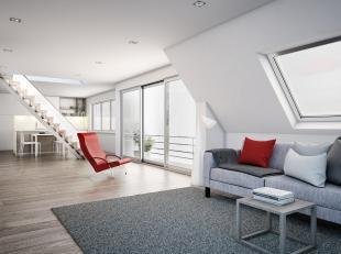 """In het charmante Polderdorp Leffinge vindt u in de karaktervolle residentie """"YPERLEET"""" een nieuwbouw 2-slaapkamer duplex op hoekligging met grote raam"""
