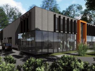 A LOUER: belle surface de 300 m² (divisible) de bureaux avec ascenseur située à l'entrée du zoning Nord de Wavre ( niveau 2)