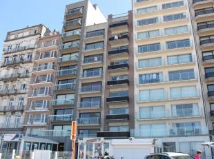 Net onderhouden gemeubeld appartement, gelegen op de Zeedijk ter hoogte van de Pier van Blankenberge, frontaal zeezicht, 7° verdieping.