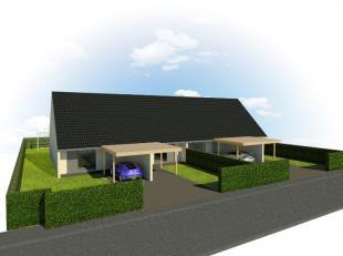 Tijdloos en kleinschalig nieuwbouwproject te Wervik, bestaande uit 4 elegante woningen.   Elke woning is opgebouwd uit een inkomhal voorzien van een g