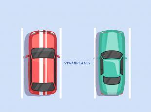 Makkelijk in te rijden autostaanplaatsen in een kleinschalig gebouw te Blankenberge.<br /> Plaats voor 2 (kleinere) auto's.<br /> Informeer nu.<br />