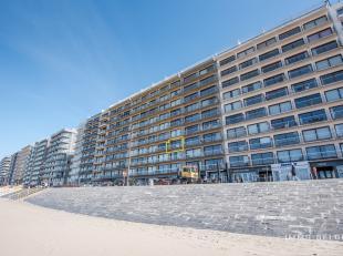 Knus appartement met frontaal zeezicht. App. is gelegen op de 3e verdieping van de res. JUPITER, op een rustig stukje van de Zeedijk van Blankenberge.
