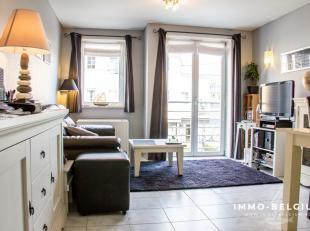 In een deelgemeente van de prachtige badstad De Haan namelijk de Vosseslag, Huisvest dit instapklaar appartement.Dit mooi eigendom is slechts enkele m