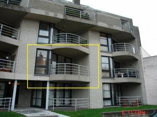 Instaplaar appartement met 1 slpk en zonneterras - 1ev met lift - inger keuken en badkamer met ligbad en lavabo, lasten en kosten gemene delen :50euro