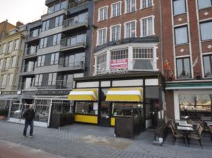 Handelsgelijkvloers op commerciele ligging Visserskaai Oostende - <br /> 100 m² handelsoppervlakte - momenteel uitgebaat als restaurant met 80 zi