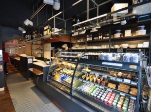 Trendy Délifrance concept-store - op topligging Kapellestraat Oostende - smaakvol, hippe interieurinrichting - 100% professionele apparatuur -