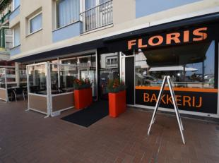 Patisserie - bakkerij - tearoom - lunchbar - snack ''Floris'' - hoekpand op commerciële ligging te Westende - uiterst smaakvol en professioneel i