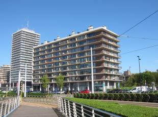 Schitterend appartement op de 5° verdieping met prachtig zicht op de jachthaven. Beschikt over 2 slaapkamers en terrassen zowel voor- als achteraa