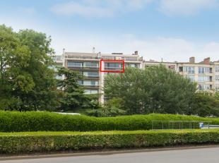 Ruim appartement met een uniek zicht op het Leopoldpark. Het appartement is zuidgericht , er zijn twee slaapkamers. Badkamer is met ligbad en douche.