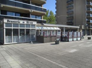 Brasserie-Restaurant El Rey Oostende, ruime zaak met grote zonneterrassen, zeer veel mogelijkheden, vlak bij strand, mooie eigendom, alle bestemmingen
