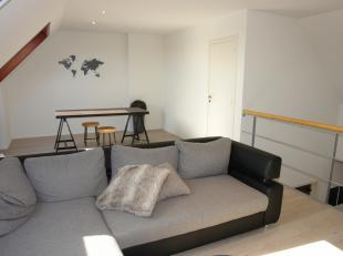 Ruim (97 m²) duplexappartement met 2 slaapkamers, 3° & 4° verdieping, loftgevoel, vlakbij invalswegen, lift aanwezig, winkels en open