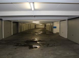 Garagebox in het centrum. <br />
