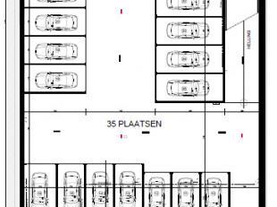 """Garagebox (6,08 m x 5,60 m) in garagecomplex """"Waterzicht"""" te Bredene nabij de Spuikom.<br /> Verkoop onder BTW-stelsel."""