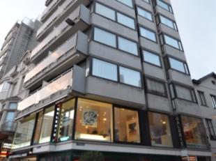 Oostende-centrum, prachtig gelegen 1 slaapkamer appartement op de 6de verdieping, ideaal gelegen in het hartje van Oostende, op wandelafstand van alle