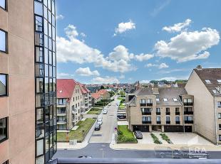 Mooi zonnig appartement in de Residentie Hydro Palace op de 3de verdieping. Indeling:inkom, living, keuken, wc, badkamer met ligbad. Via de living toe