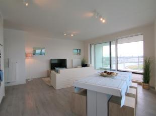 Nieuwbouw appartement op de 9e verdieping met een fantastisch uitzicht op het water van de Spuikom!<br /> Dit appartement bestaat uit:<br /> Inkomhal,