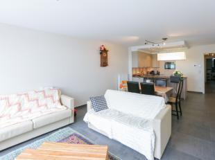 Recent gebouwd gelijkvloers appartement<br /> De indeling is als volgt:<br /> Inkom, leefruimte met mooie open keuken, badkamer met dubbele lavabo en