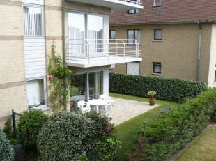 recent en goed onderhouden appartement te koop; <br /> op gelijkvloerse verdieping; <br /> zonnige leefruimte, keuken, 2 slaapkamers, badkamer, toilet
