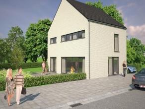 Twee Nieuwbouw woningen gelegen in een groen en landelijke omgeving dicht bij het centrum van Bonheiden.<br /> Lot 2 / 3 slaapkamers / Bebouwde opp. 1