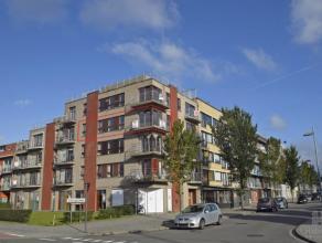 Mooi hoekappartement op de 3de verd. van een recent gebouwde residentie, gelegen op de hoek van de Tijdokstraat en de Kustlaan, op enkele passen van d