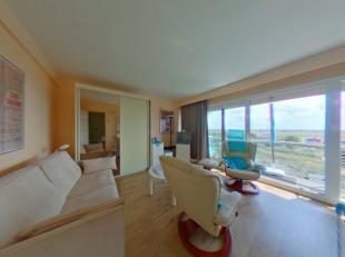 Zeer mooie studio gelegen op de achtste verdieping.<br /> Woonkamer met comfortabel zetelbed, open keuken met alle nodige comfort.<br /> Badkamer met