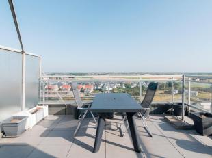 Dakappartement met fantastisch terras op de tiende verdieping.<br /> Woonkamer met slaapcomfort voor 4 personen. Open keuken met alle nodige comfort.<
